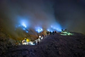 Java Tour visiting Ijen Blue Fire