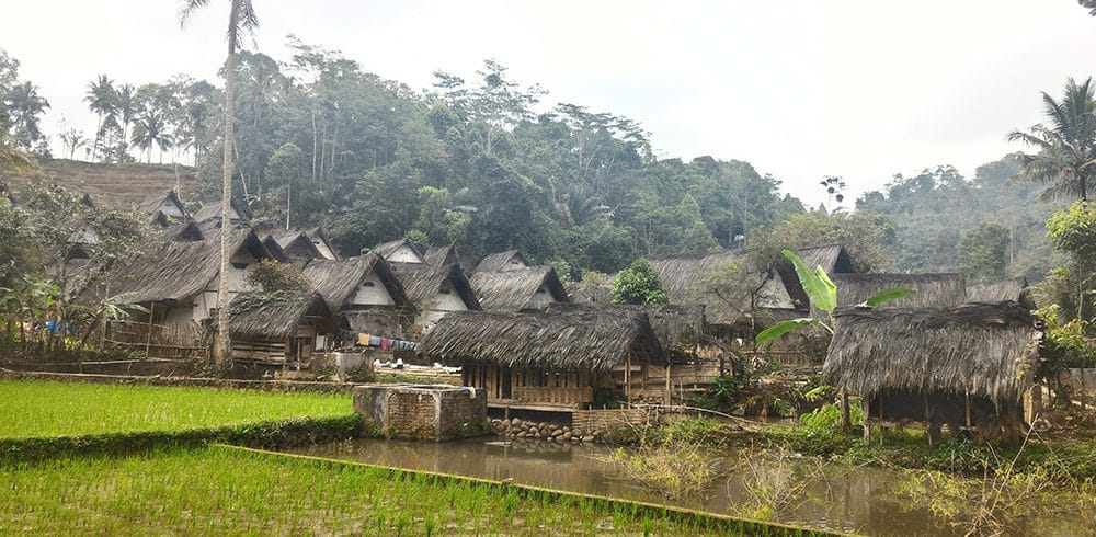 The Kampung Naga Village